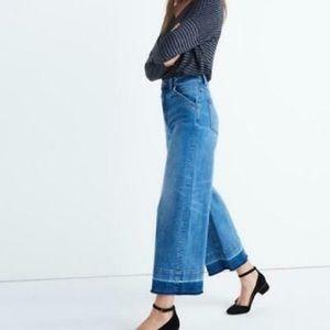 Madewell Wide Leg Crop Jeans 👖